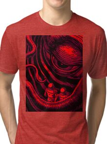 CTHULHU OUT OF SPACE Tri-blend T-Shirt