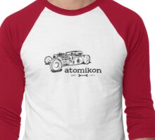 Atomikon - hand sketch version Men's Baseball ¾ T-Shirt
