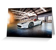 Stealth Fighter Greeting Card