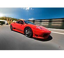 Ferrari 360 Challenge Stradale | Rigged Photographic Print