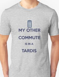 How do i get to work? It varies.  T-Shirt
