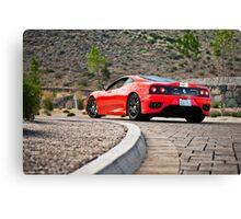 Ferrari 360 Challenge Stradale Canvas Print