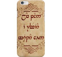 Not All Who Wander Are Lost in Elvish iPhone Case/Skin