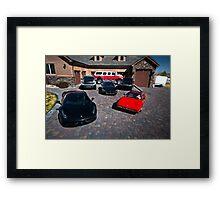 Dream Garage Framed Print
