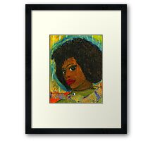 Halo for a Sad Sistah Framed Print