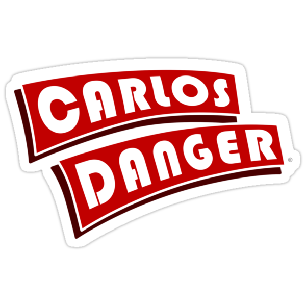 Carlos Danger aka Anthony Weiner T-Shirt Plain by BroadcastMedia