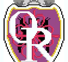 Ouran High 8bit Logo by ZoeTwoDots