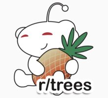 r/Trees Reddit Alien with a Pineapple by caomicc