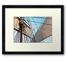Barque At The Bay Framed Print