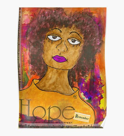 HOPE for Tomorrow - Journal Art Poster