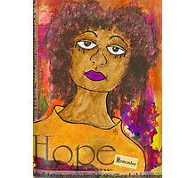 HOPE for Tomorrow - Journal Art Photographic Print