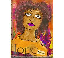 HOPE for Tomorrow - Journal Art Photographic Print