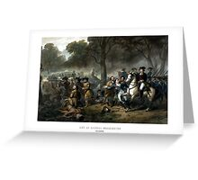 Life Of George Washington -- The Soldier Greeting Card