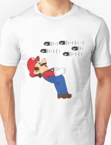 Mario Matrix. T-Shirt
