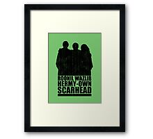 The Golden Trio Framed Print