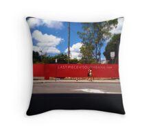Last Piece of Brisbane Throw Pillow