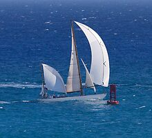 Dorade Wins Transpac 2013 by Alex Preiss