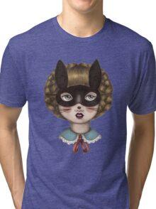 Ceremony - Masked Bunny lass Tri-blend T-Shirt