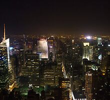 New York City Skyline - North by JordanDefty