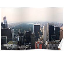 New York City Skyline - North (Top of the Rock) Poster