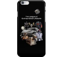 The League of Extraordinary Robots iPhone Case/Skin