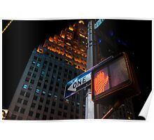 Times Square Hotel Poster
