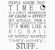 Wibbly-Wobbly Timey-Wimey - Doctor Who by redpants
