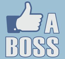 Like a Boss! Kids Tee