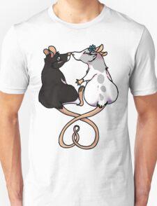 ratty love(gray and black) Unisex T-Shirt