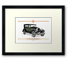 1926 Chrysler Phaeton Framed Print