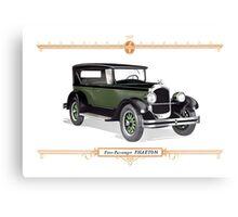 1926 Chrysler Phaeton Canvas Print