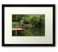 Waiting for his Bride Framed Print
