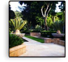 Even More Formal Gardens Canvas Print