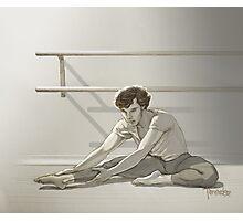 Ballet Sherlock #2 Photographic Print
