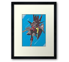 Evasive Action Framed Print