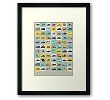 Star Cars Framed Print