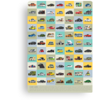 Star Cars Canvas Print