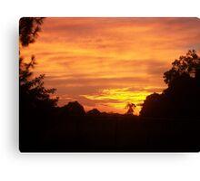 Early Summer Sunrise Canvas Print