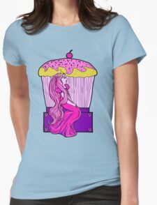 Bubblegum Nouveau Womens Fitted T-Shirt