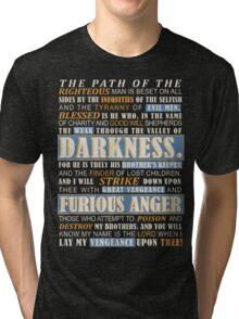 Pulp Fiction: Ezekiel 25:17 Tri-blend T-Shirt