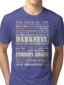 Pulp Fiction: Ezekiel 25:17 Tri-blend T-Shirt