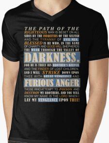 Pulp Fiction: Ezekiel 25:17 Mens V-Neck T-Shirt