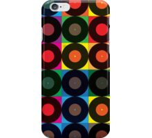Vintage Record Pack iPhone Case/Skin