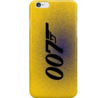 007 - JAMES BOND iPhone Case/Skin