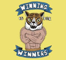 Tiger Man Always Winning Kids Tee