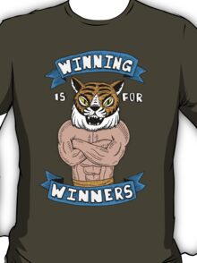 Tiger Man Always Winning T-Shirt