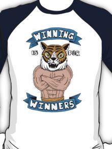 Tiger Man Always Winning T-Shirt