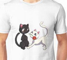 Kitty Flower Unisex T-Shirt