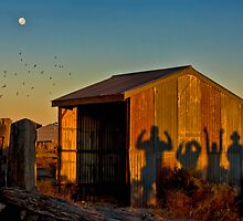 Shadow play by Chris Brunton