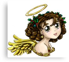 Holly Angel Canvas Print